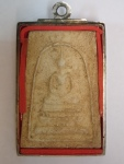 Item 1026*SOLD* Phra Somdej  Wat KulithongBE24?? (3 Pce Gold)